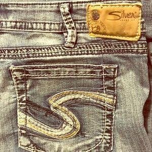 SILVER Jean Co stretch jeans 33W 33L